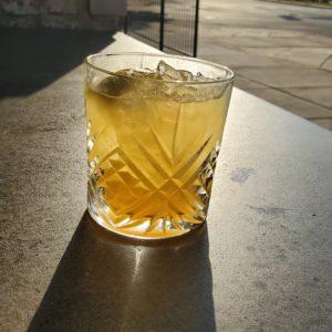 whiskey, sour, cocktail, bourbon